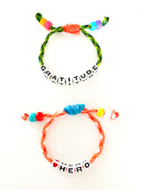 Hero + Gratitude Bracelet Set