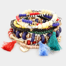 Primary Colors Bracelet Set/Stack