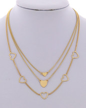 All The Hearts Necklace