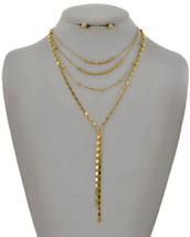 Gold Goodness Layered Necklace