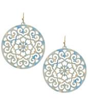 Blue Mosaic Earrings