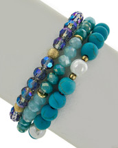 Blue Waters Bracelet Set