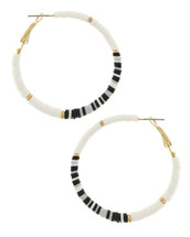 Black + White Hoops