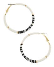 Black + White Hoops