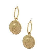 Little Coin Hoops: Gold Or Silver