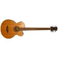 NEW LUNA MUSE ACOUSTIC BASS GUITAR