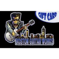 BOSTON GUITAR WORKS GIFT CARD