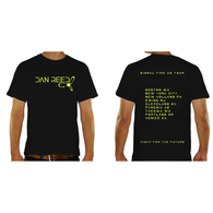 DAN REED SIGNAL FIRE T-SHIRT