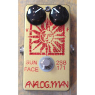 NEW ANALOG MAN SUN FACE FUZZ w/ LED AND ON/OFF FUZZ POT