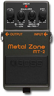 NEW Boss MT-2 Metal Zone Effect Pedal