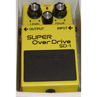 NEW Boss SD-1 Super Overdrive