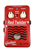 EBS RED TWISTER CHORUS NAMM DISPLAY