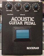 SOLD - ROCKMAN ACOUSTIC GUITAR PEDAL
