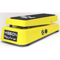 NEW MISSION REWAH ST WAH PEDAL  -  YELLOW