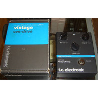 SOLD - NEW T.C. ELECTRONIC Vintage Overdrive - DISCONTINUED