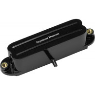 NEW SEYMOUR DUNCAN HOT RAILS FOR STRAT, BLACK - NECK