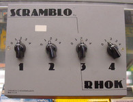 Rhok Scramblo, mix up to 4 effects ! ! !