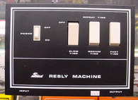 SOLD - Shin-ei Resley Machine, ULTRA RARE, 110 & 220, N.O.S.