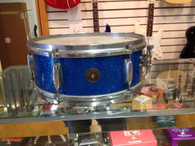 GRETSCH SNARE - Mid 60's - BLUE SPARKLE
