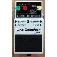 SOLD - BOSS LS-2 LINE SELECTOR