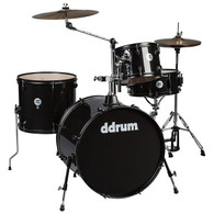 NEW DDRUM D2 ROCK 4-PIECE KIT - BLACK SPARKLE
