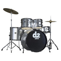 NEW DDRUM D2 5-PIECE DRUM KIT - BRUSHED SILVER