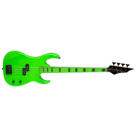 DEAN CUSTOM ZONE BASS - NUCLEAR GREEN