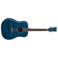 NEW DEAN AX DQA TBL Dread Quilt Ash Acoustic Guitar