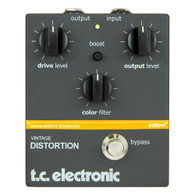 SOLD - NEW T.C. ELECTRONIC VINTAGE DUAL DISTORTION - DISCONTINUED