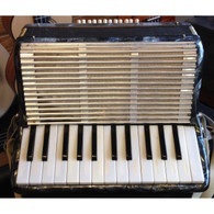 SOLD - SILVERTONE ACCORDION