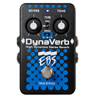 NEW EBS DYNAVERB STEREO BASS REVERB