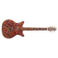 """SOLD - DANELECTRO MODEL '59 """"O"""" - PSYCHEDELIC HAND-PAINTED"""