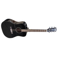 SOLD - FENDER CD-60, BLACK with CASE