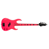 NEW DEAN CUSTOM ZONE BASS - FLUORESCENT PINK