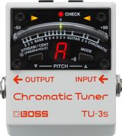NEW BOSS TU-3S CHROMATIC TUNER