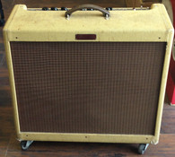 SOLD - FENDER BLUES DEVILLE 2X12, TWEED, MADE IN USA