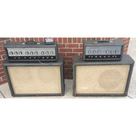 SILVERTONE TWIN TWELVE AND 1483 AMPS