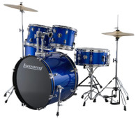 LUDWIG ACCENT 5-PIECE DRUM SET BLUE