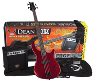 NEW DEAN EDGE 09 MRD 4-STRING BASS PACK W/AMP & ACC