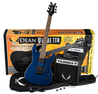 NEW DEAN Vendetta XM Tremolo Pack - MBL w/Amp