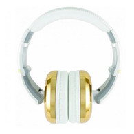 NEW CAD AUDIO MH510GD HEADPHONES - GOLD/WHITE