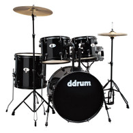 NEW DDRUM D120B  5-PIECE DRUM KIT - MIDNIGHT BLACK
