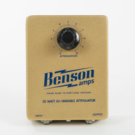 NEW BENSON 30 WATT 8 OHM ATTENUATOR