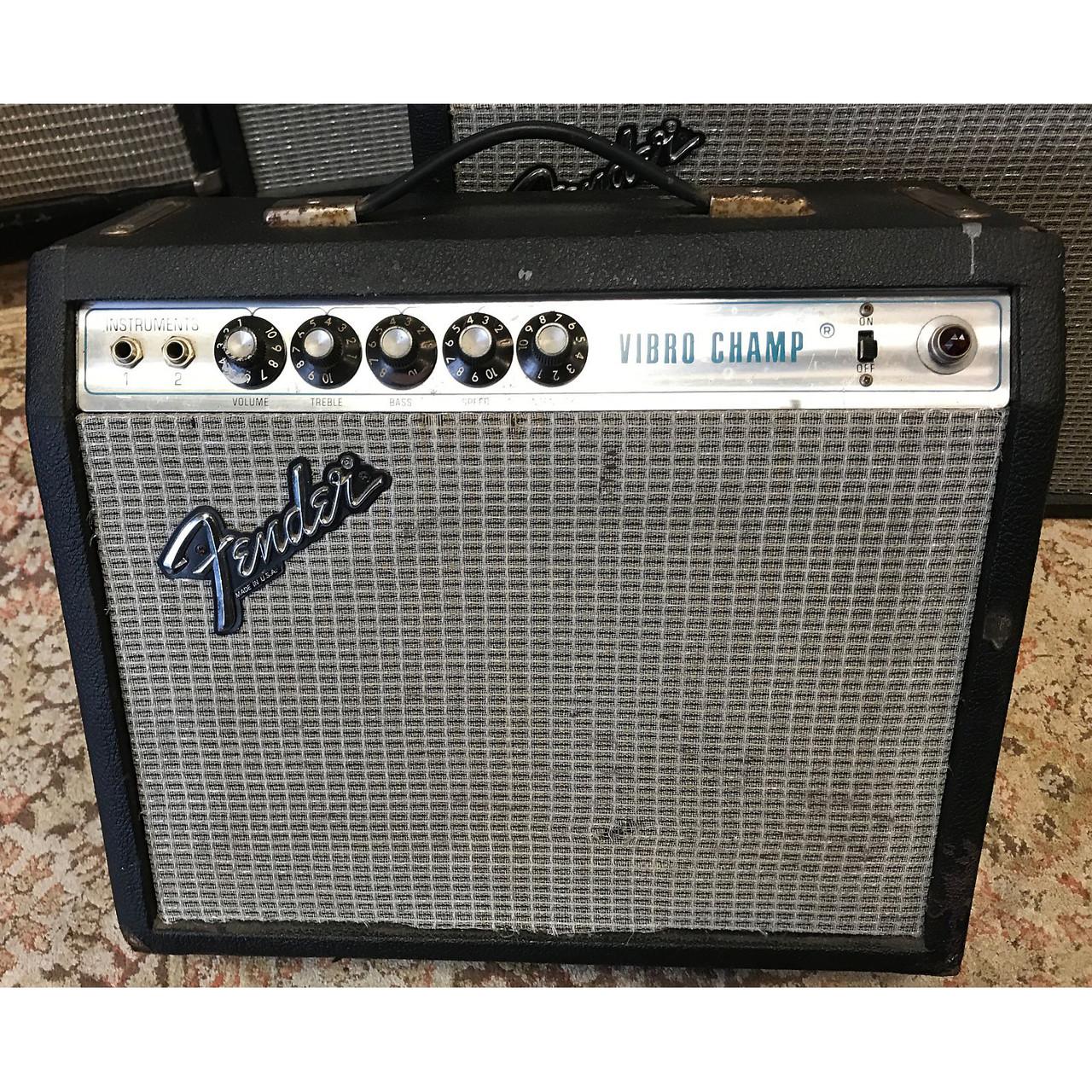 Sold 1978 Fender Vibro Champ Boston Guitar