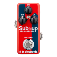 NEW T.C. ELECTRONIC SUB 'N' UP MINI OCTAVER
