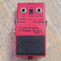 BOSS PSM-5 POWER SUPPLY AND MASTER SWITCH