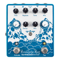 NEW EARTHQUAKER DEVICES AVALANCHE RUN V2 - STEREO REVERB & DELAY W/ TAP TEMPO