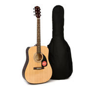 NEW FENDER FA-100 ACOUSTIC GUITAR PACKAGE