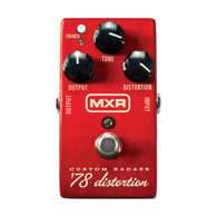 NEW MXR M78 CUSTOM BADASS '78 DISTORTION
