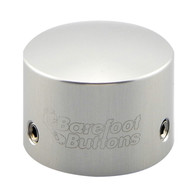 NEW BAREFOOT BUTTONS V2 - TALL BOY - SILVER